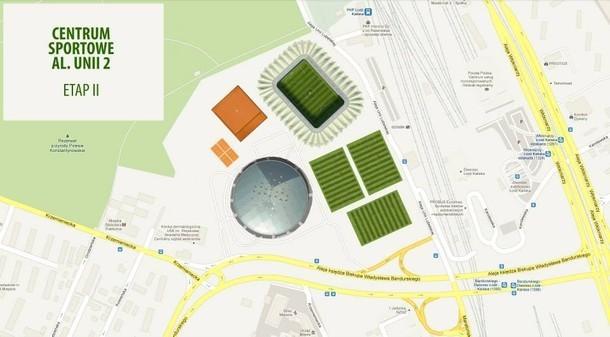 Przetarg na budowę stadionu i hali przy al. Unii w Łodzi