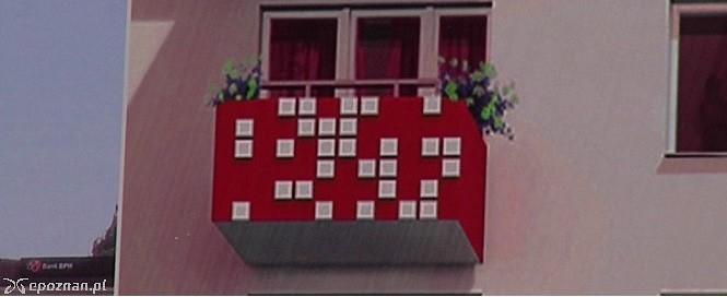 Rzut kostką zdecydował o wyglądzie balkonów na poznańskim osiedlu