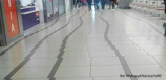 Podłoga Auchan Gdańsk