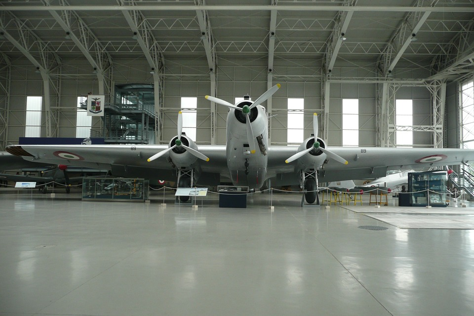 Podłoga Hangar lotniczy